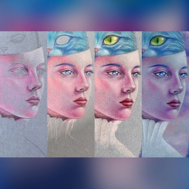 faces mystery :blue_heart:⠀⠀ ⠀⠀ - carolinaseth | ello