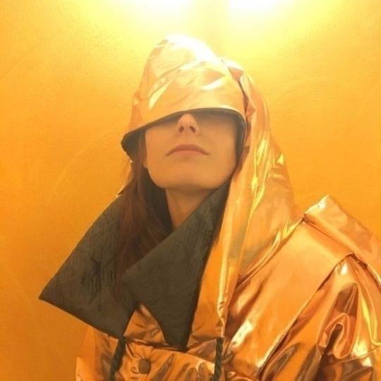Woman Mars. Lisa Astarte jacket - okult   ello