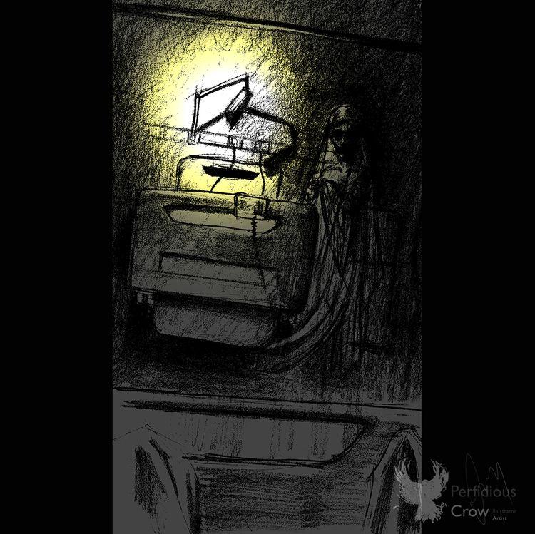 'Night Nurse' Original Horror I - perfidiouscrow   ello