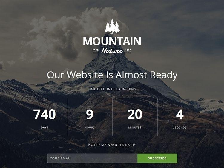 Mountain Responsive Coming Them - flashblue | ello