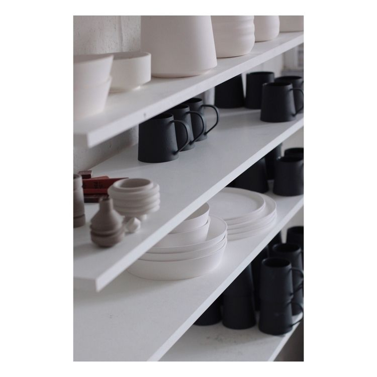 Studio shelves. Lots moment - elliottceramics | ello
