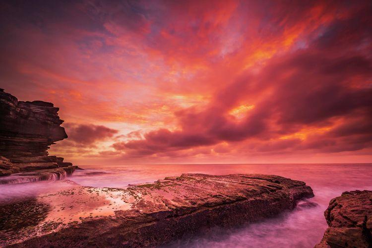 Sunrise Clovelly Sydney, Austra - keithmcinnes | ello