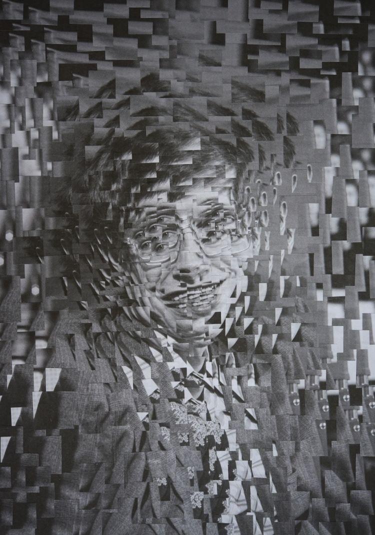 Stephen Hawking, 8.2 11.6 inche - loladupre | ello
