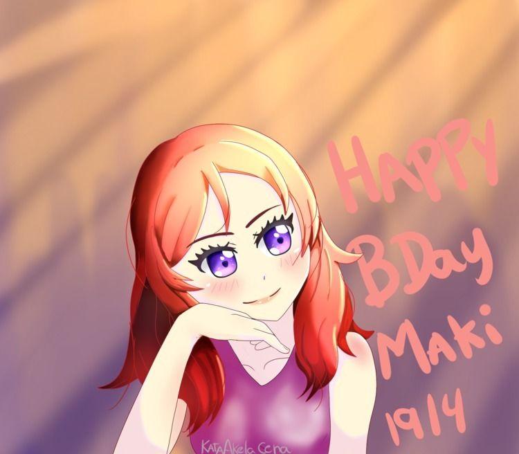 Happy Birthday Maki! piece turn - kataakelacena   ello