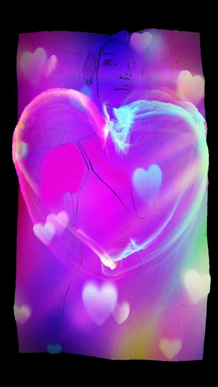 LOVE BLUE - novaexpress93, woman - novaexpress93   ello