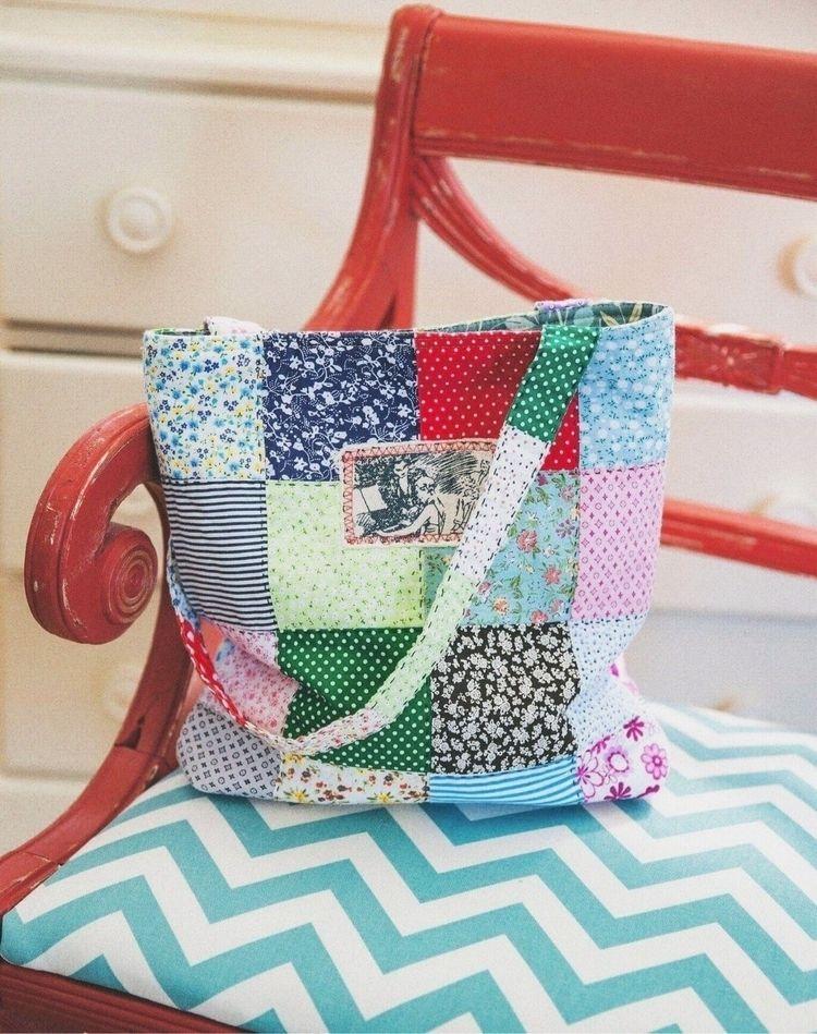 Patchwork bag - patchwork, handmade - zolychka | ello