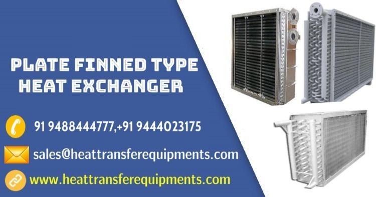 Plate fin type heat exchanger m - heattransfer | ello