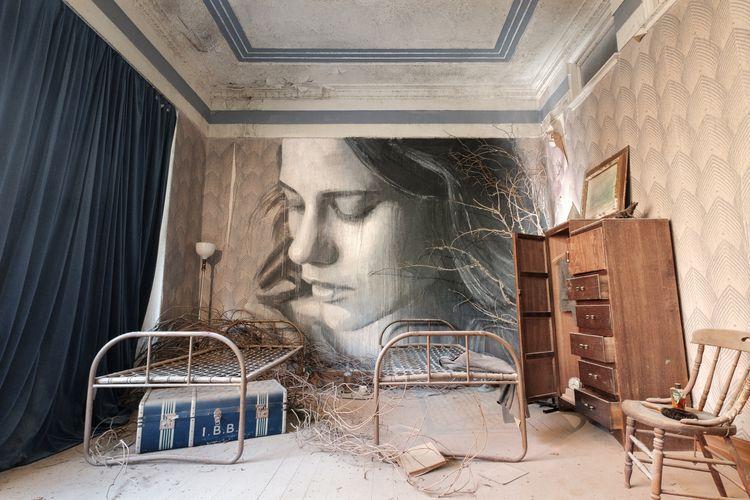 Blue Room - abandoned, art, decay - realstephenwhite | ello