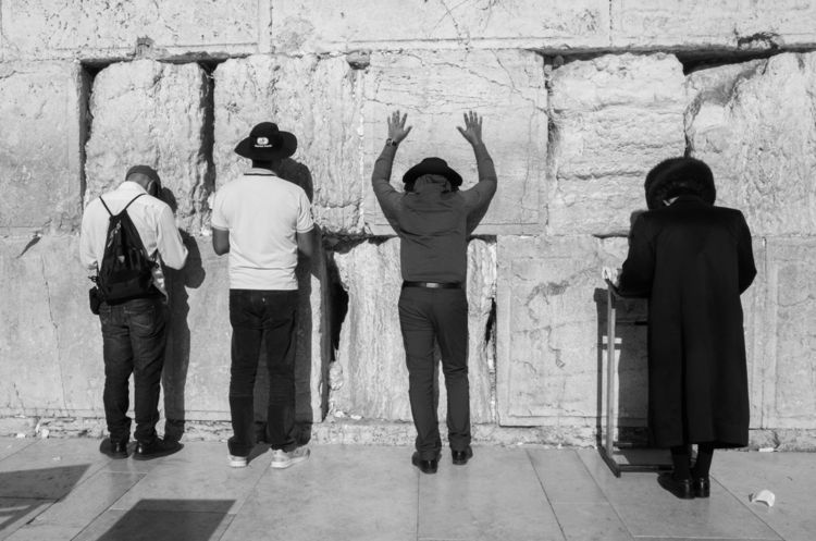 Western Wall personages. Jerusa - victorbezrukov | ello