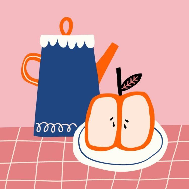 Teaching love - fruit, tea - breadwithnothing | ello