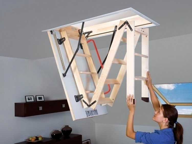 Portatif Çatı Merdiveni - fakroloftladder | ello