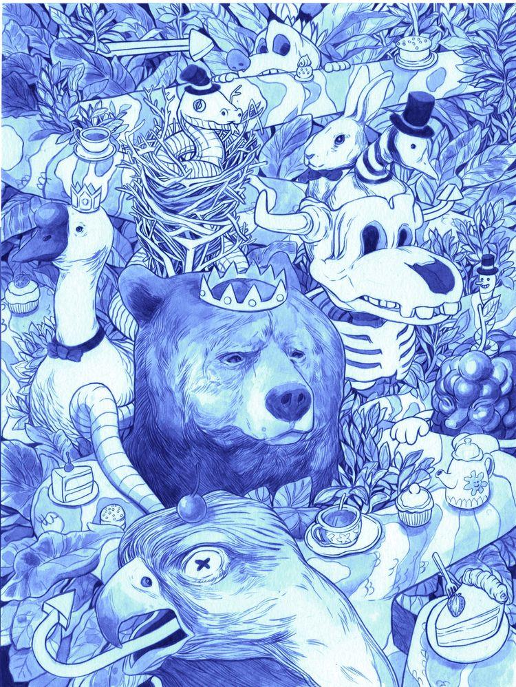 featured artist Tarik Mask hono - ellocvlt | ello