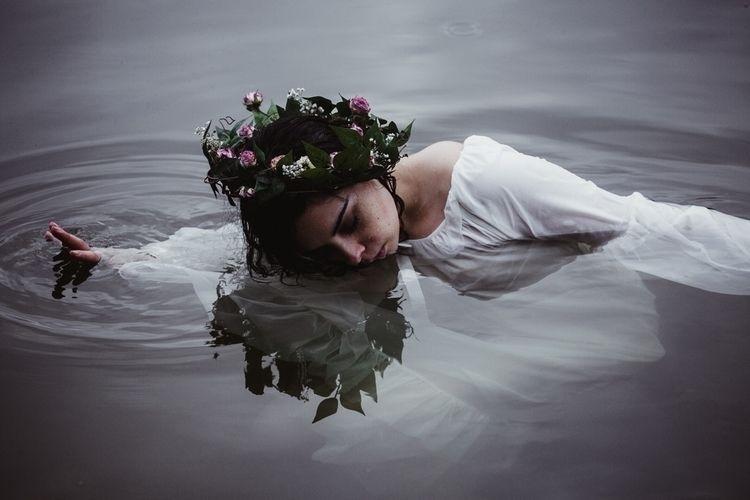 Spring Goddess Frame - portrait - thenoirdivision | ello
