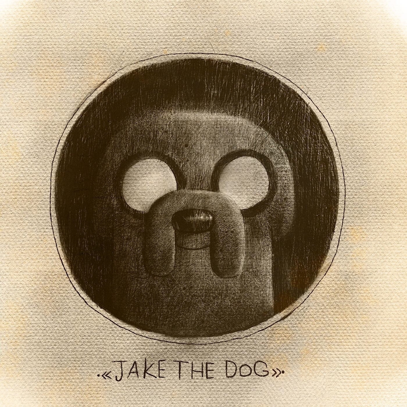 Jake Dog - adventuretime, cartoonnetwork - babakesmaeli | ello
