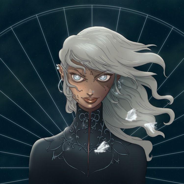 Lunar Priestess - moon, astrology - overmind | ello