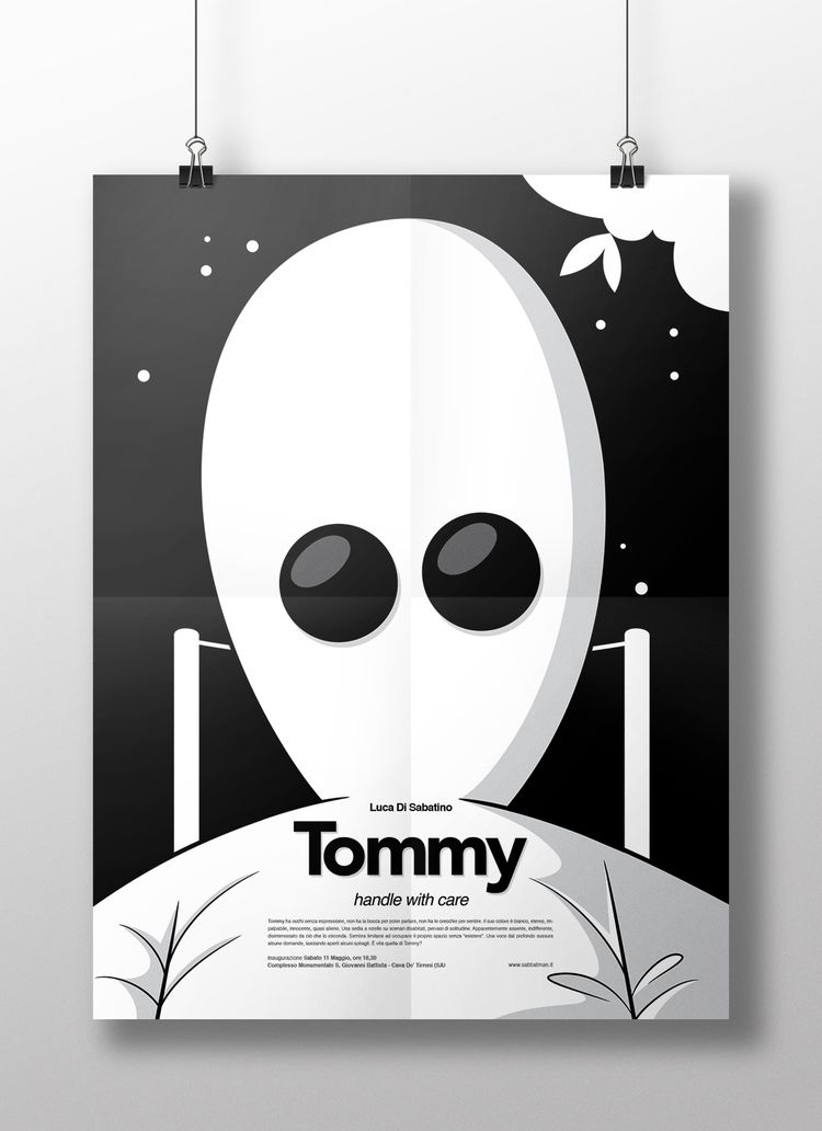 Tommy coming - artdirection, illustration - sabbatman | ello