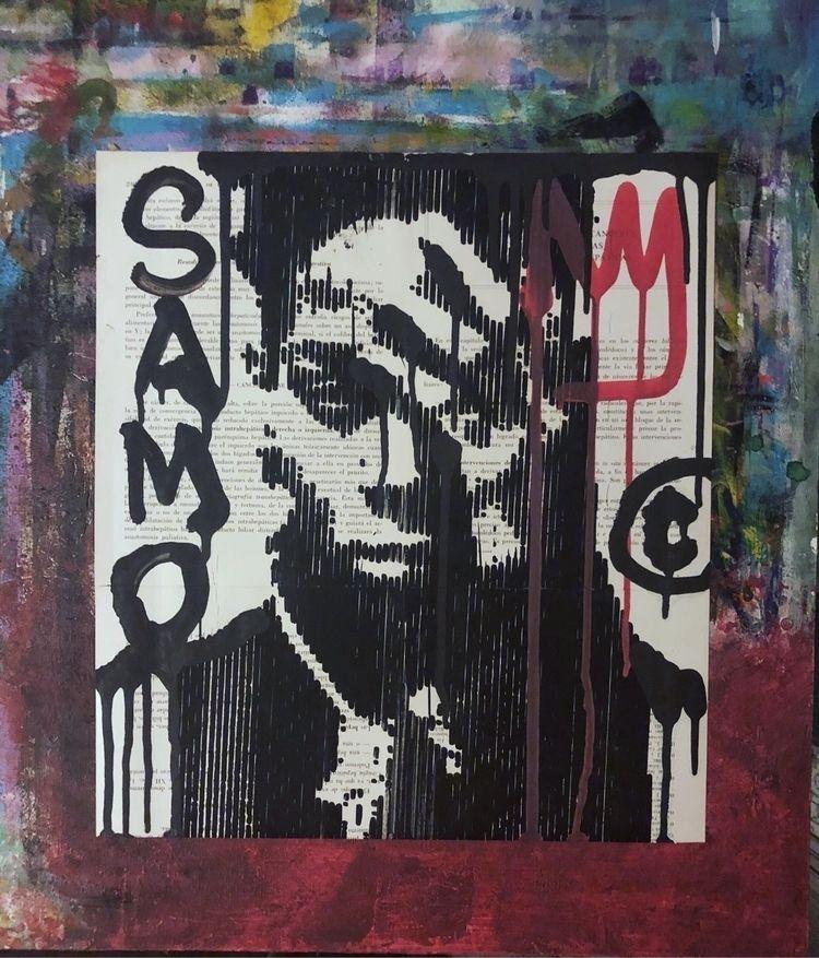 Samo! . gallery link bio :arrow - cicerospin   ello