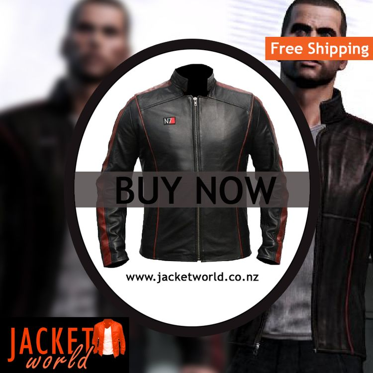 N7 Leather Jacket Mass Effect M - jasonbmanuel | ello