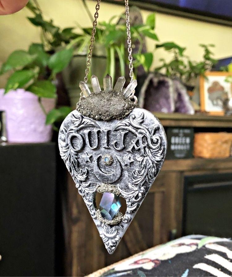 Planchette necklaces stock - crystals - gypsyhawaii   ello