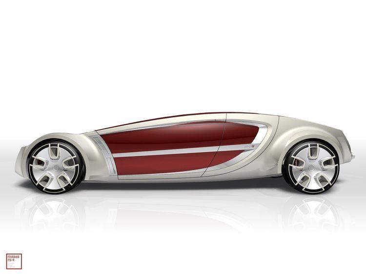 Mazda Hybrid / Michelin tire co - jamesowendesign   ello