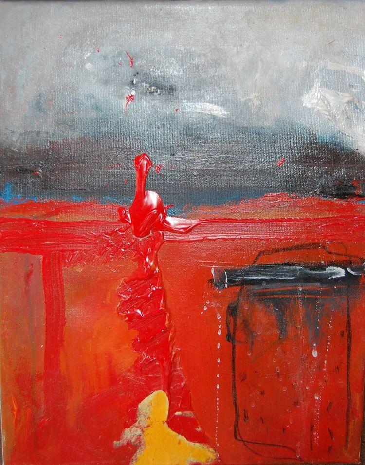 Acrlylique canvas Abstractart#c - lorenceole | ello