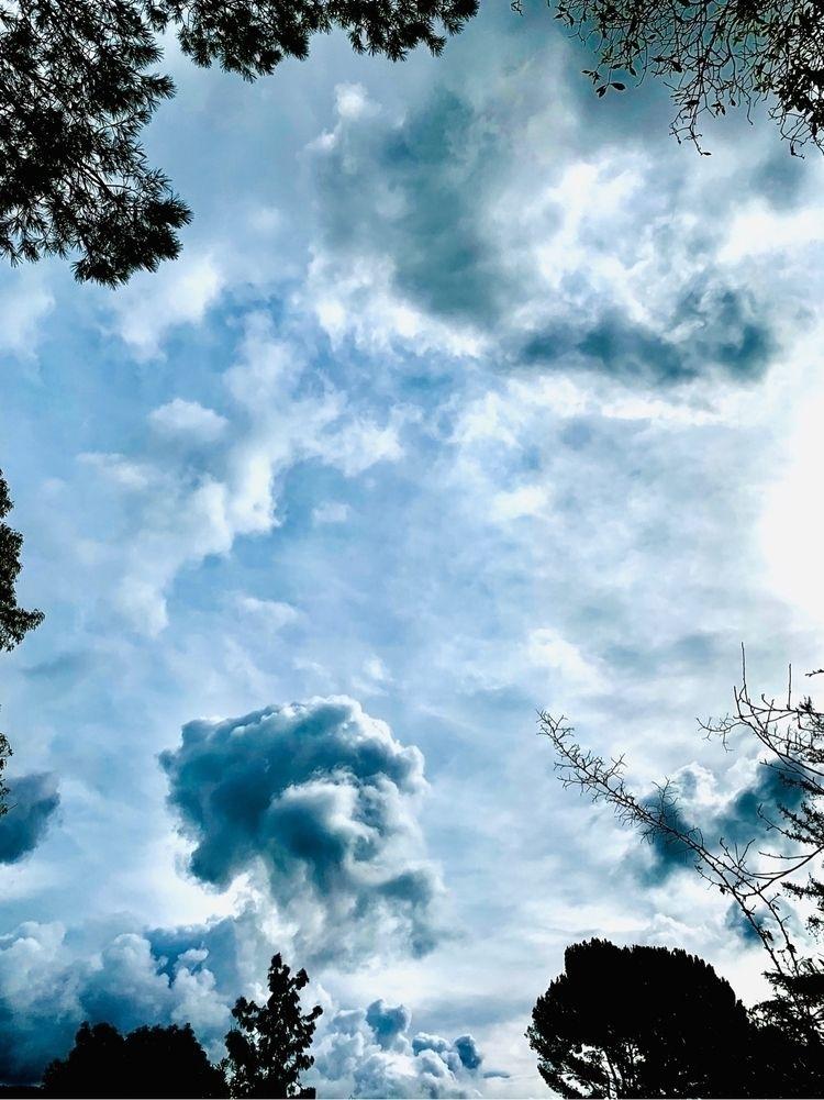 lookup - sky, clouds, iphone, altadena - heewhoo | ello