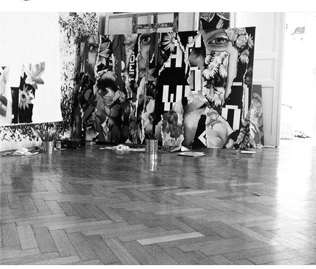 STUDIO- Zsuzsi Csiszér - studio#oilpaintings#paintings#oiloncanvas#canvas#zsuzsicsiszer#oilpiece#studioview - susycs | ello