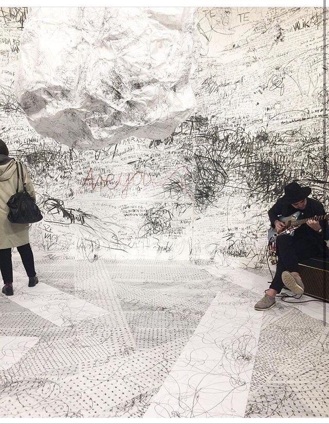 """"""" exhibition- installation - pe - susycs   ello"""