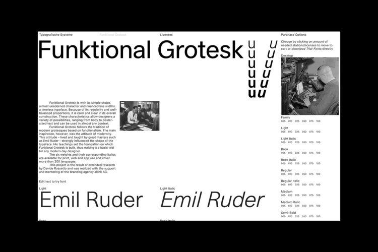 Funktional Grotesk Typografisch - northeastco   ello