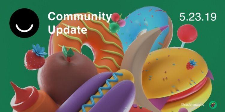 Community Update 5/23/2019 Happ - elloblog | ello
