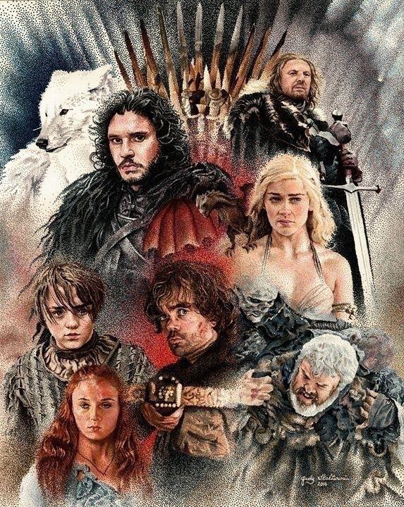 collage characters hit HBO seri - wmcs91 | ello