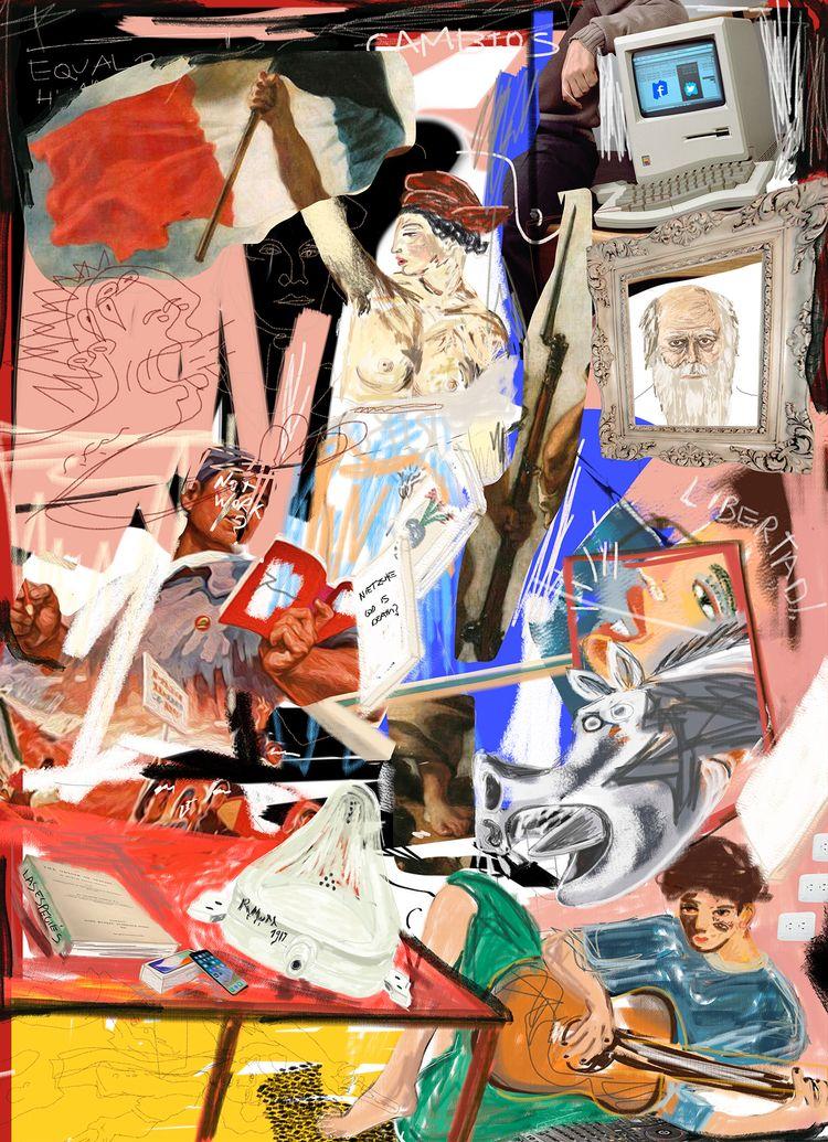 Revolution Ilustration-Collage  - paulguerrero | ello