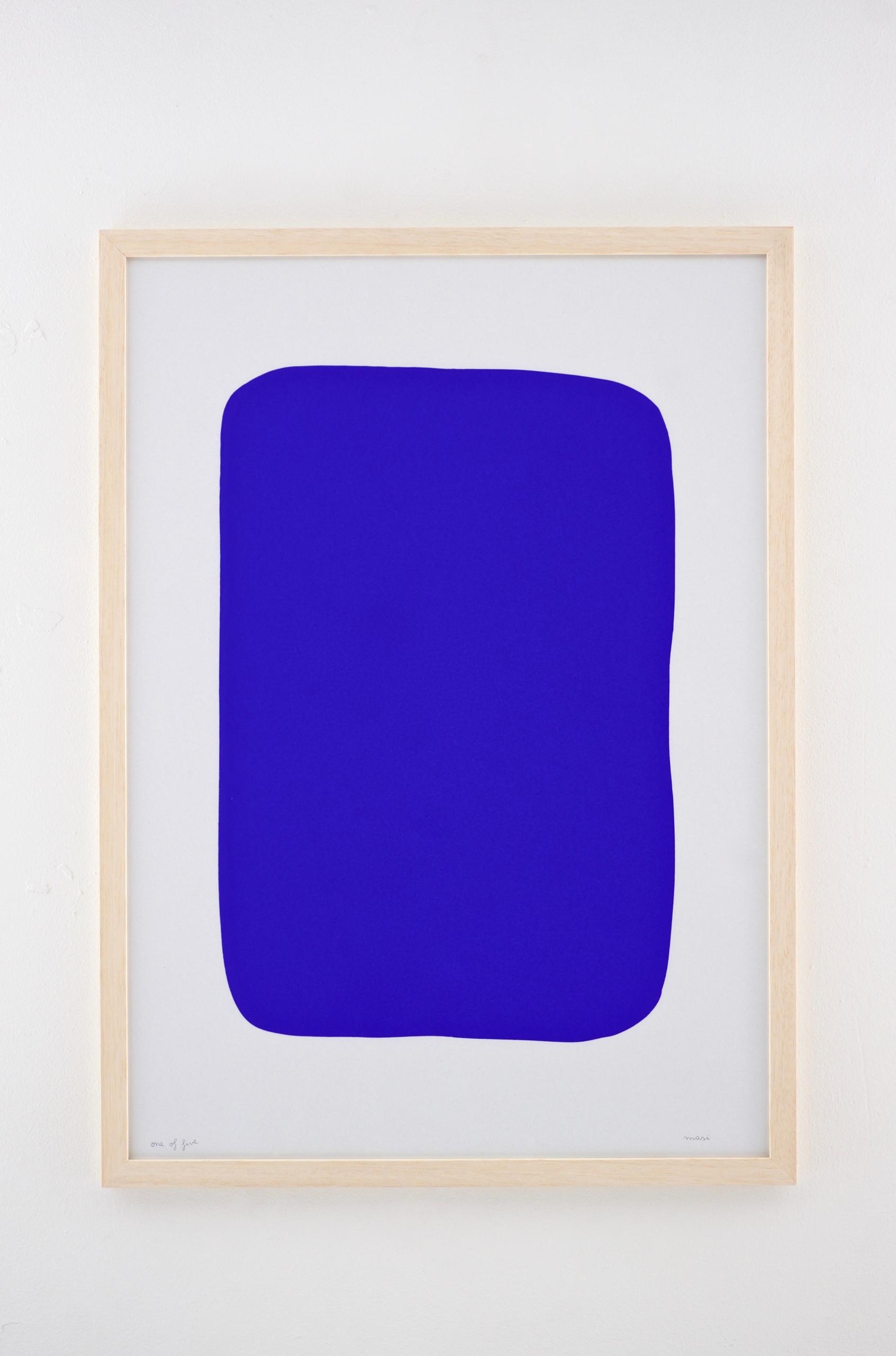 Series - masimonsters, blue, abstractart - enricamasi | ello