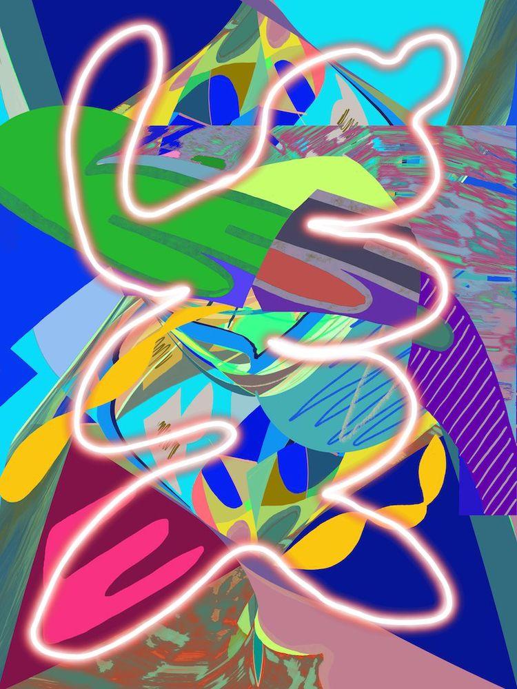 Canyon Run 2019, digital painti - tonyvandenboomen | ello
