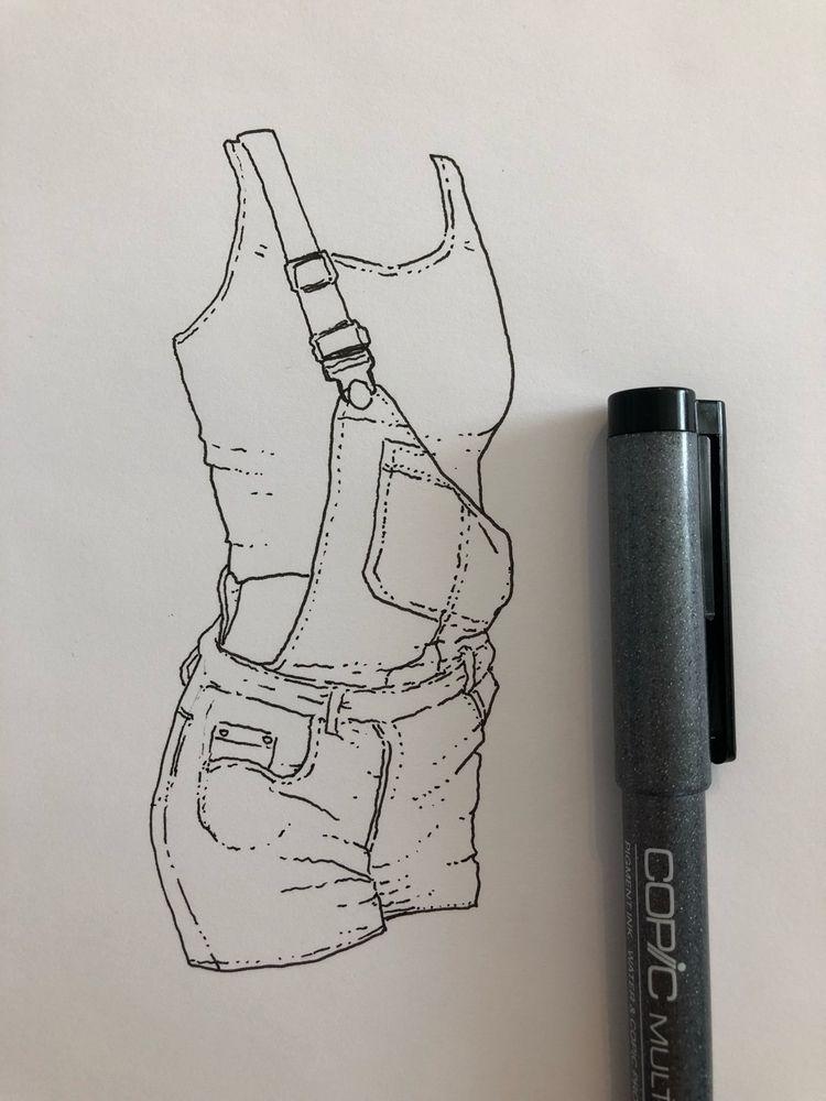 sketch, pencils, ink paper - astrosim | ello