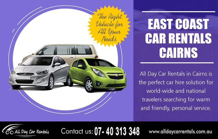 Find East coast car rentals Cai - hirecarcairns | ello