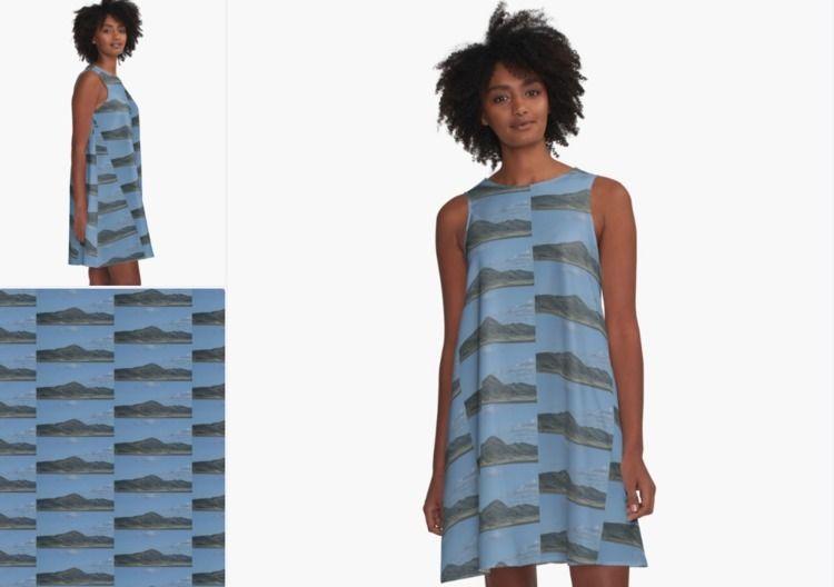 Mountain Dress - ALineDress, Redubble - sherlarch | ello