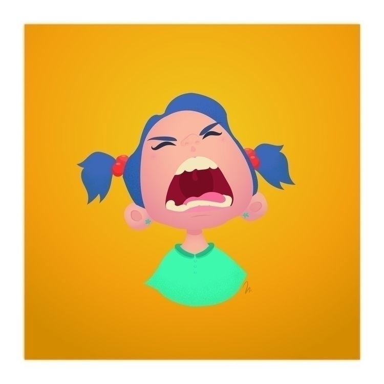 Scream girl - marinaembiz, conceptart - marinaembiz | ello