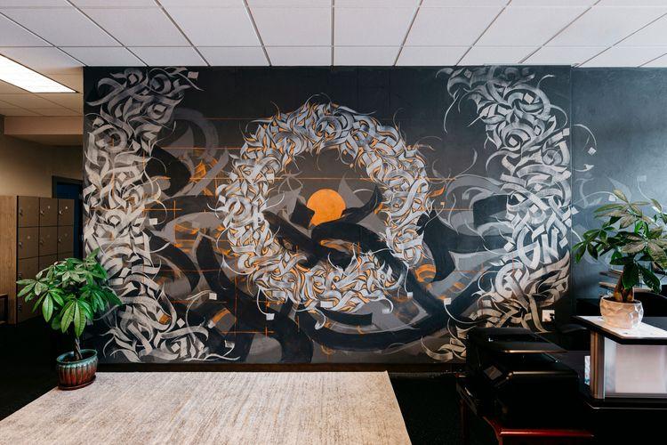 Grit City Wellness Mural — Inte - leoshallat | ello