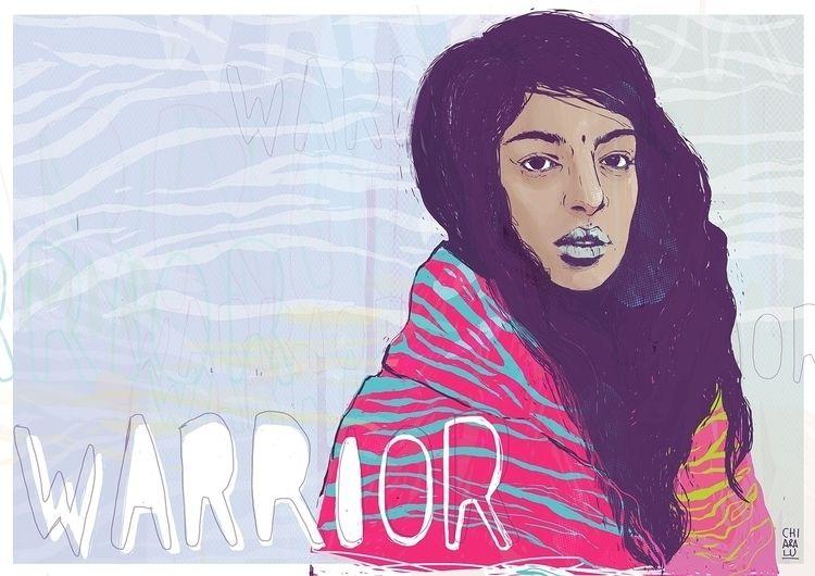 - Mia Matangi - illustration, elloillustrations - chiaralu | ello