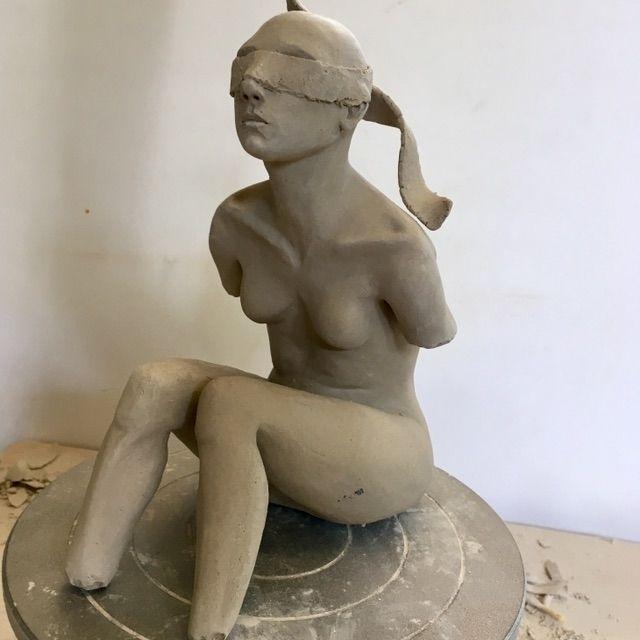 WIP - smallart, sculpture, ceramicsculpture - catherinechambers | ello