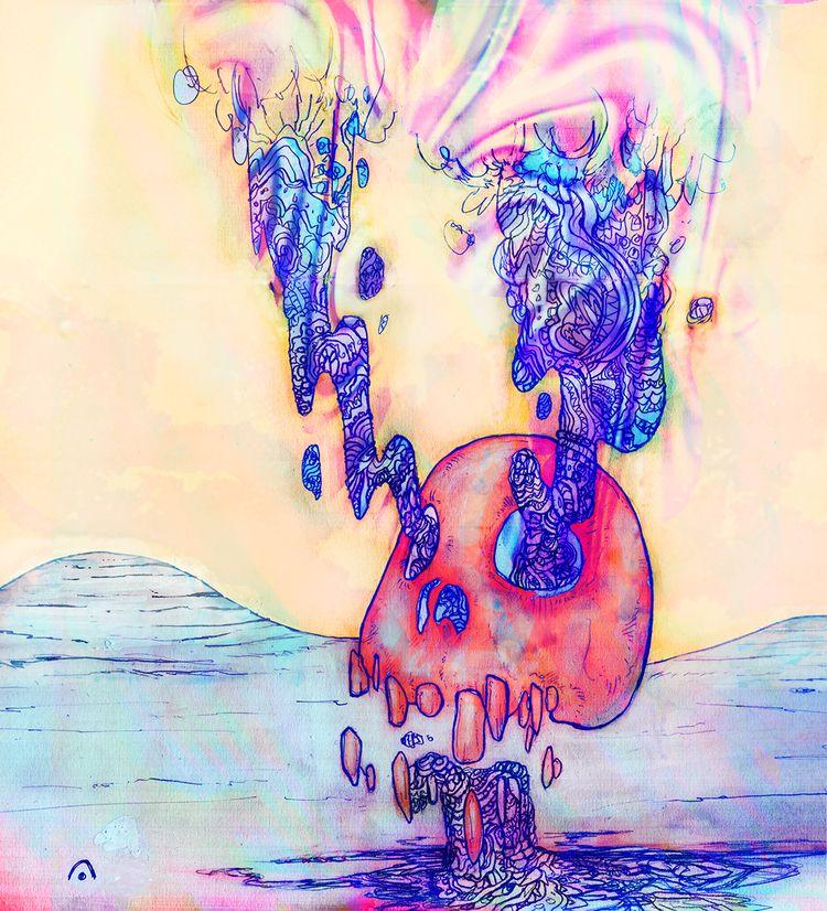 NeXXt | graphite, digital - skull - gromero | ello
