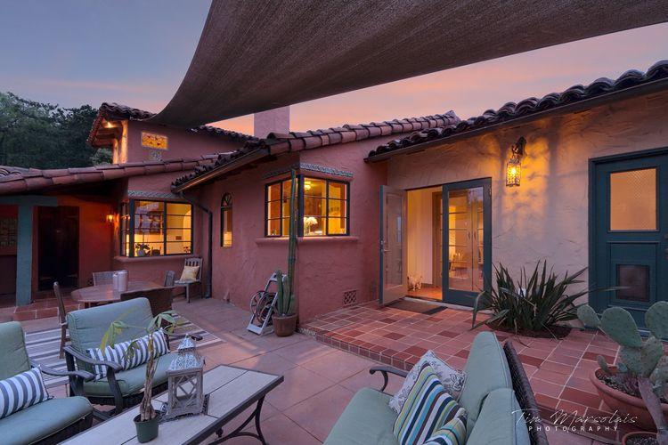 backyard sunset - architecture, architecturephotography - tmarsolais | ello
