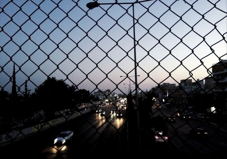 urge escape - road, cars, sky, greece - mchdlc | ello
