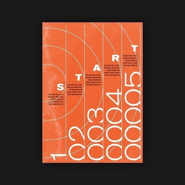 Start  - poster, posterdesign, graphicdesign - rottwang   ello