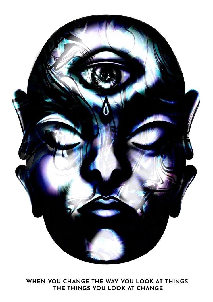 latest illustration - eye - gun_shy | ello