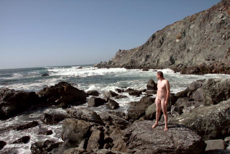 nude, naked, selfportrait, coast - uncensoredself | ello
