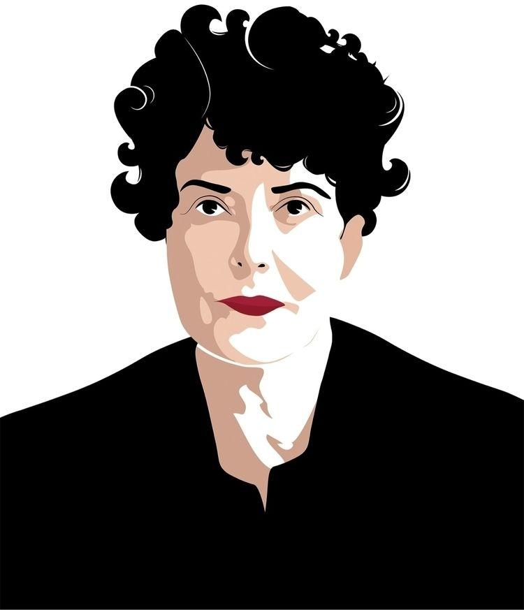 illustration Maria Irene Fornés - joeystocks | ello