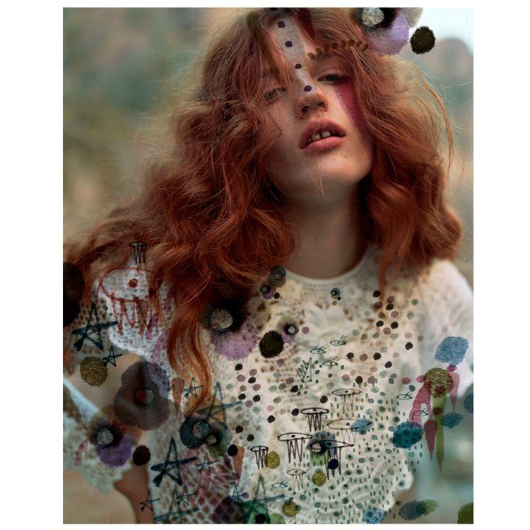 Mark making Ulla Johnson images - nadiaflower | ello