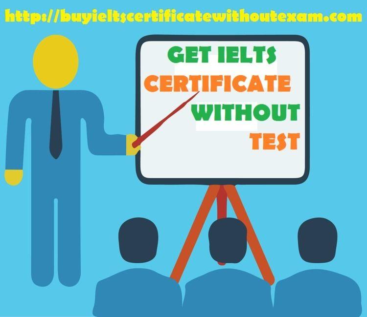 IELTS certificate test - Buy on - bob_morison | ello